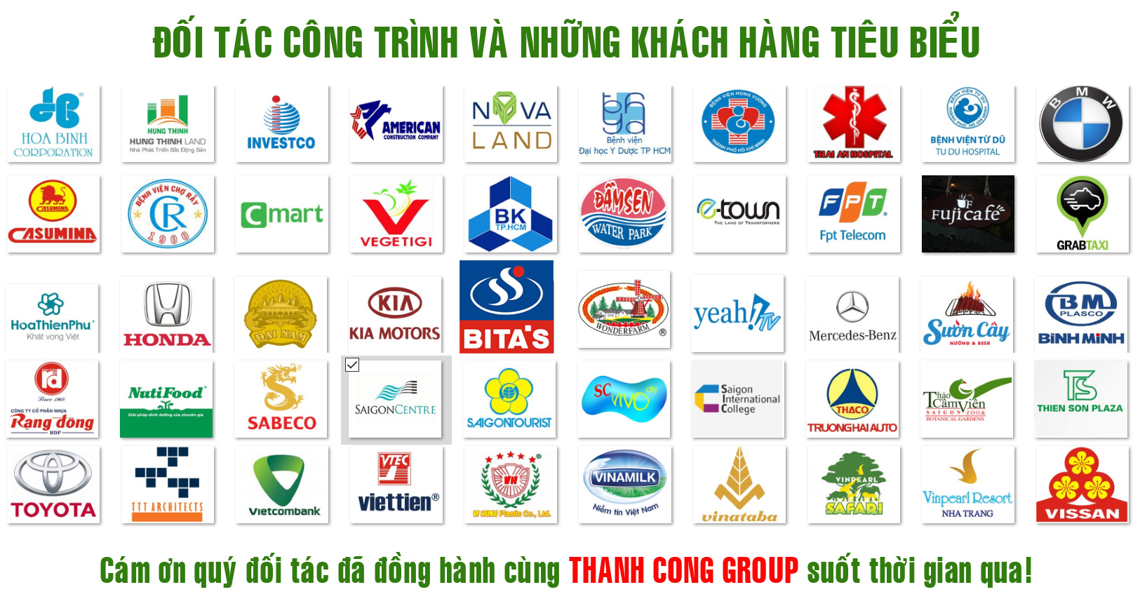Khach hang Thanh Cong Group